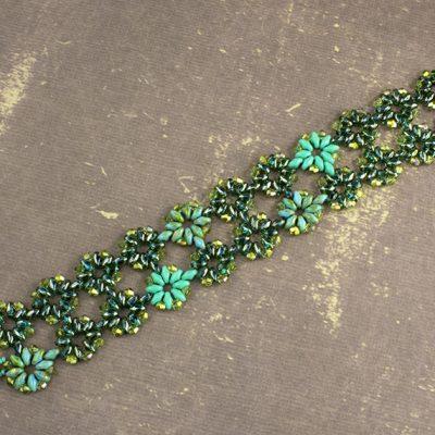 Bloom' Turquoise Bracelet