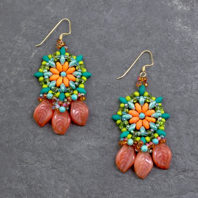 Dayglo Spring Earrings