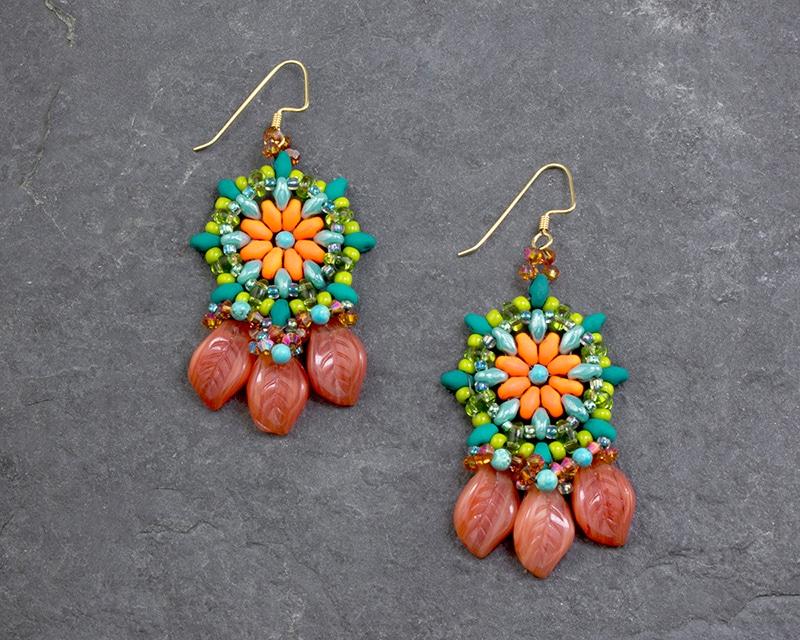 Dayglo Spring Earrings