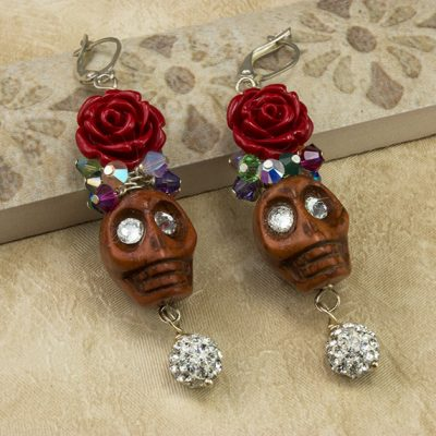 Fanciful Skulls Earrings