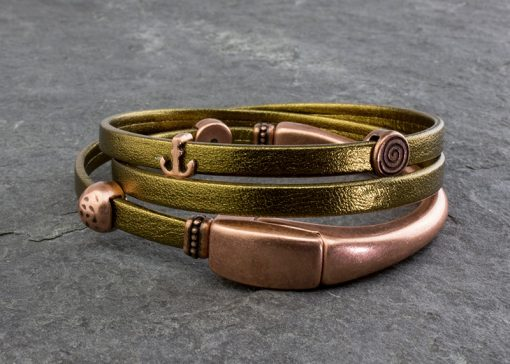Metallic Wrap Bracelet