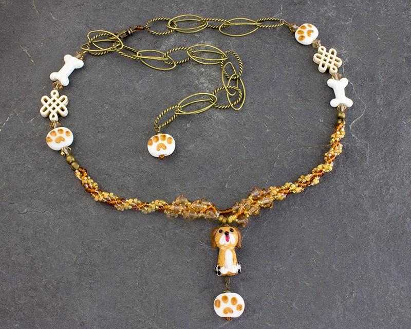 Diggity Dog Necklace