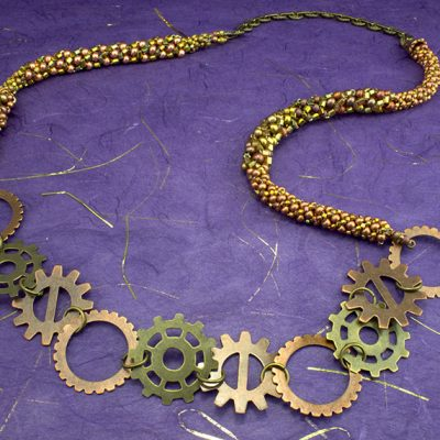 Shifiting Gears Necklace