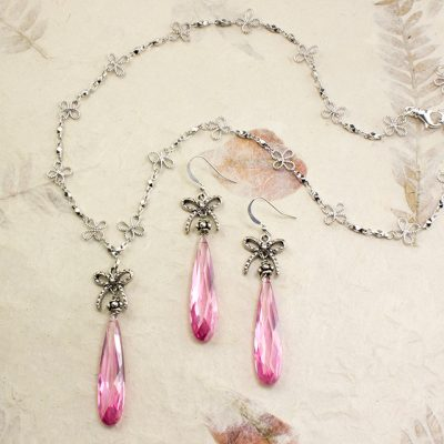 Pink Reign Necklace