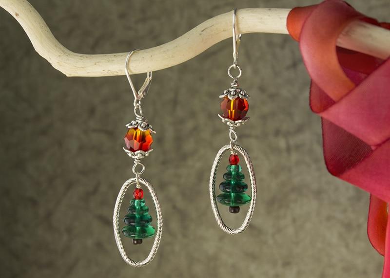Happy Tree Earrings