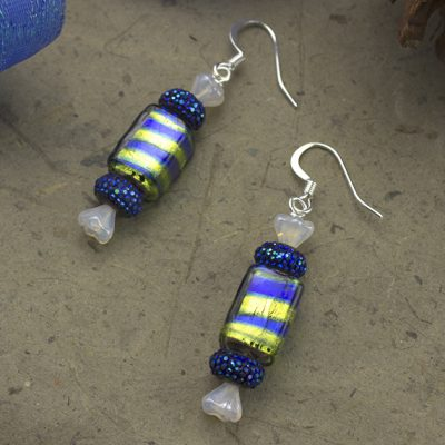 Blumints earrings