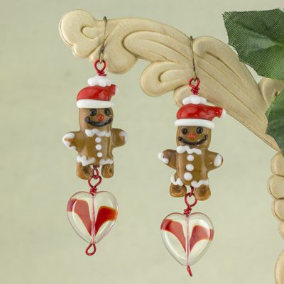Lovin Gingerbread Earrings
