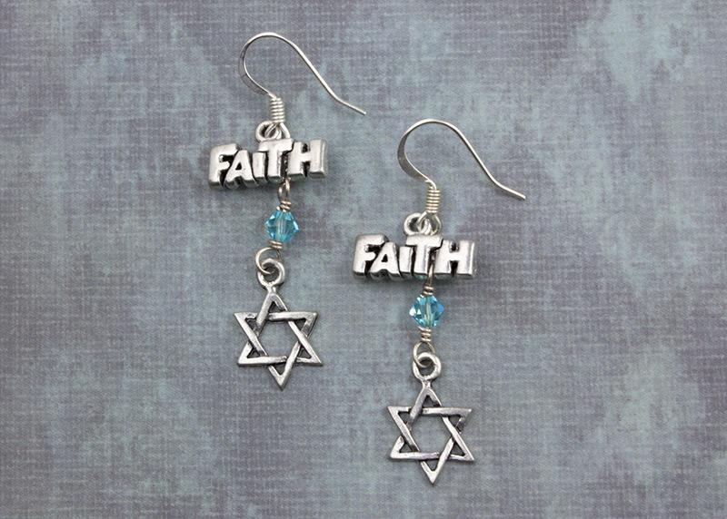 Have Faith Earrings