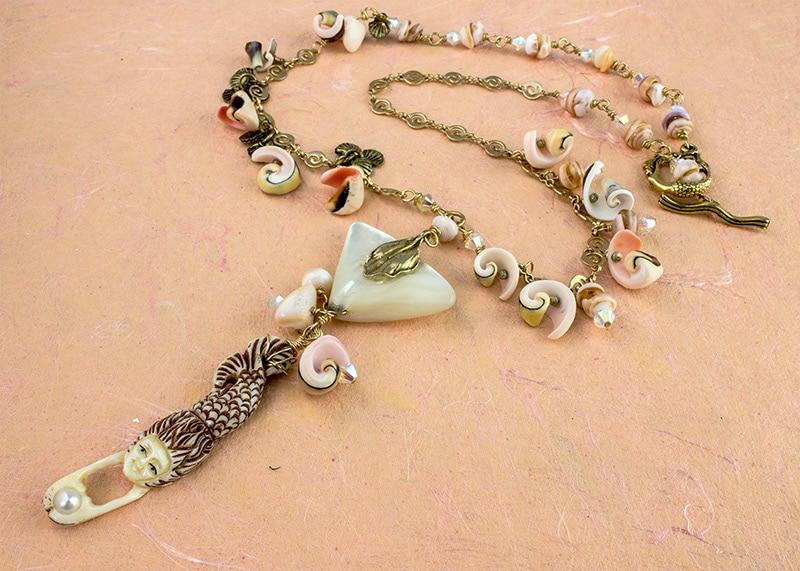 Diving Sea Diva Necklace